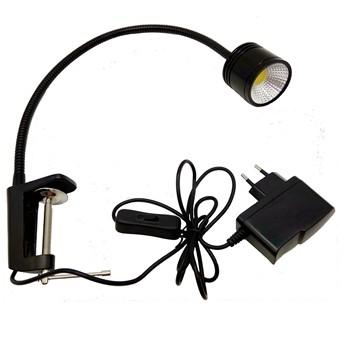 5w led clamp work light with plug