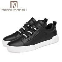 Northmarch Лидер продаж мужская обувь из натуральной кожи дышащие мужские тапки Элитный бренд мужские Повседневное обуви Chaussure Спорт Homme