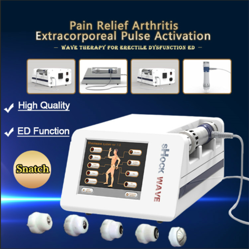 Portable Low Intensity Extracorporeal Shock Wave Therapy Erectile Dysfunction Physical Therapy Beauty Equipment With CE Approved