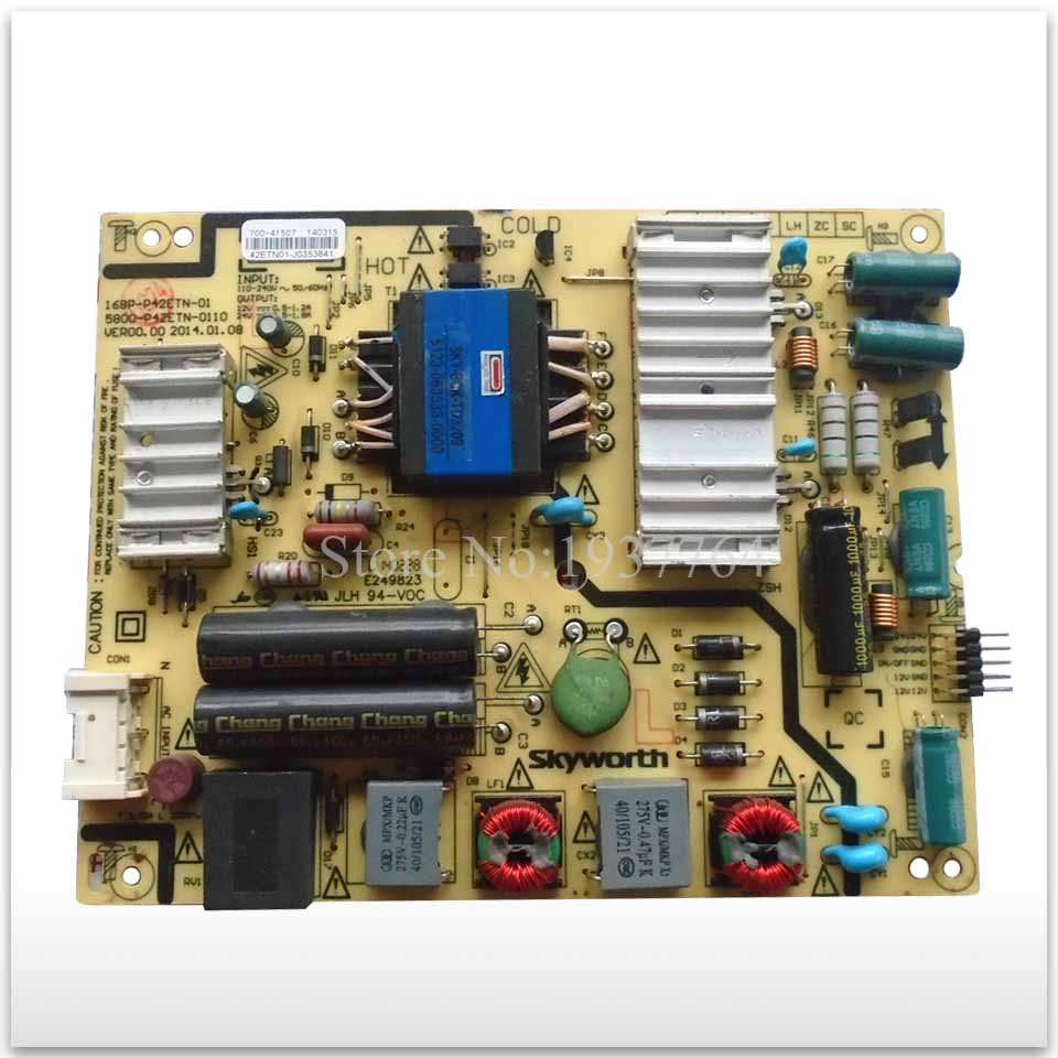 90% new good working used power supply board 168P-P42ETN-01 5800-P42ETN-0110, цена и фото