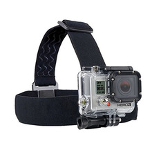 Headband Chest Head Strap Action Sport Camera Accessories Mount Monopod For Gopro Hero 3 3+ 4 5 SJ4000 SJ5000 Sport Cam Helme