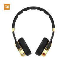 Original Xiaomi Mi Headphones Black Foldable over Ear Hi-Fi Stereo Headset with Built-in Mic
