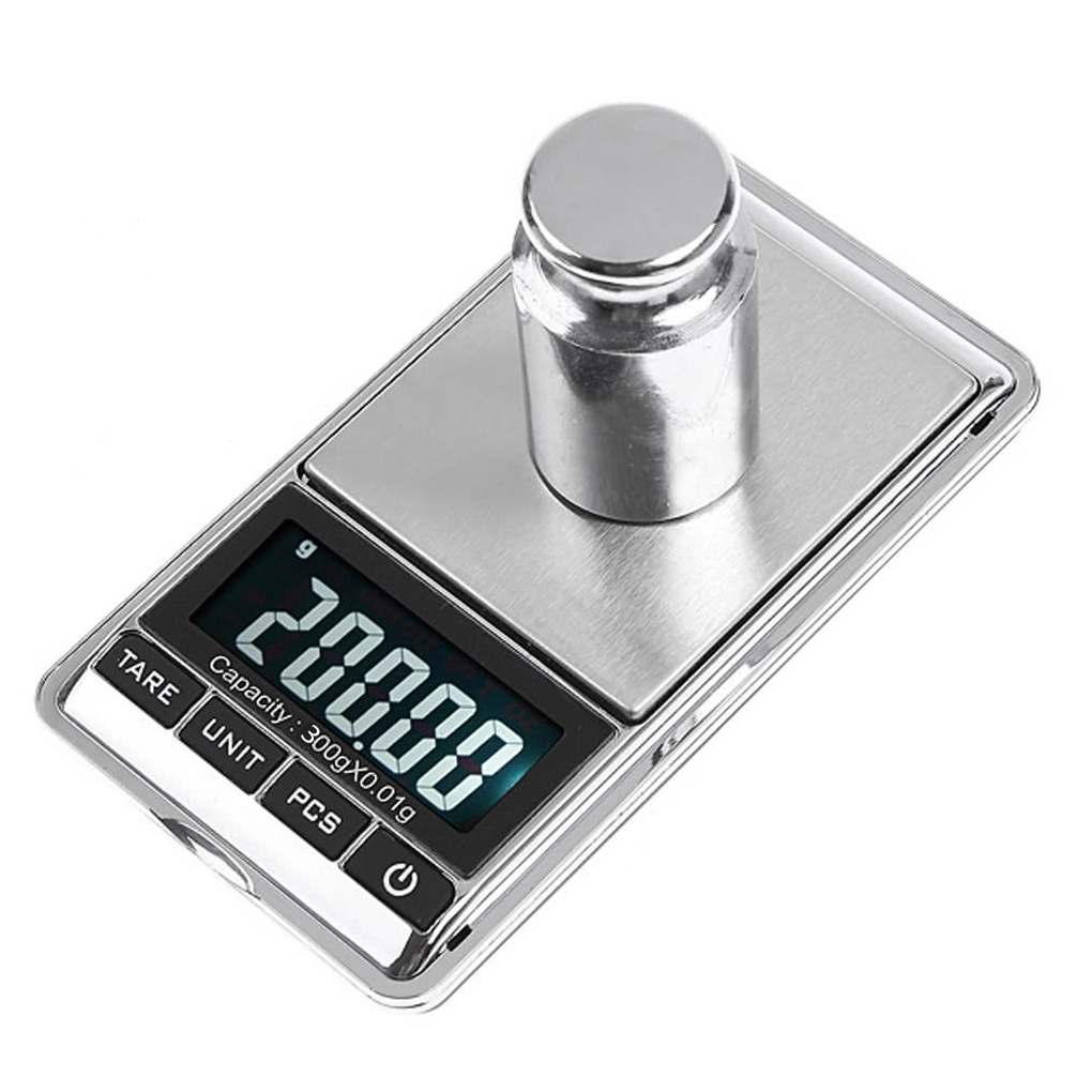 300 г/0,01 г мини ЖК-дисплей Электронная цифровой ювелирные Вес весы карманные точность весах 115x65x15 мм