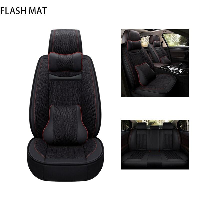 Housse de siège de voiture universelle pour mercedes w124 w211 w203 w245 w201 c180 w123 w164 S600 accessoires de voiture