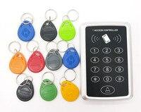 RFID Toegangscontrole Toetsenbord 125 KHz of 13.56 MHz Deur Controller Elektrische Security Lock + 20 stks RFID Keyfob Tag