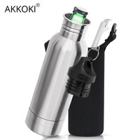 23df09b124 12oz Stainless Steel Beer Bottle Keeper Holder With Opener Double Wall  Vacuum Insulated Bucket Keeps Cold