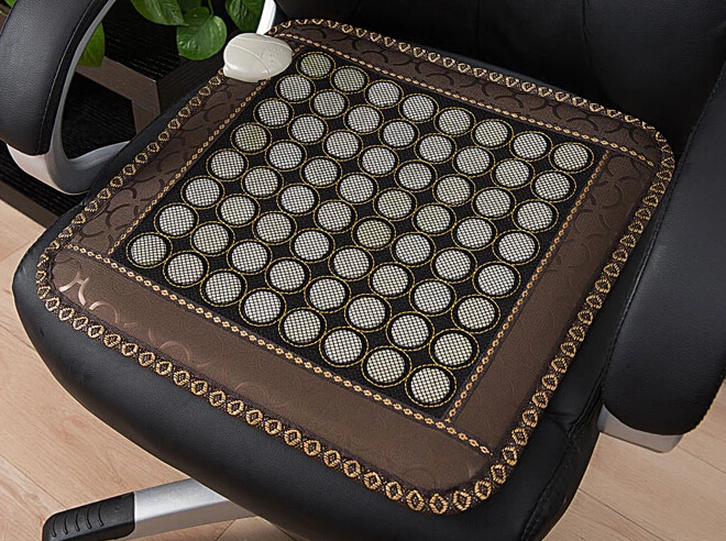 High Quality+ Free Shipping for Heat Seat Pad Jade Heated Pad Household Jade Massage Seat Cushion for Sale Free Shipping цены онлайн