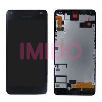 For Lumia 550 LCD Display Touch Screen Digitizer Assembly Frame Replacement Parts