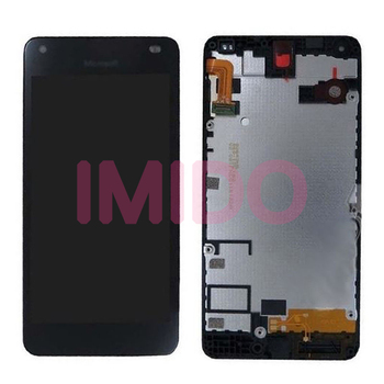Per Nokia Lumia 550 RM-1127 Display LCD + Touch Screen Digitizer Assembly + Telaio Parti di Ricambio