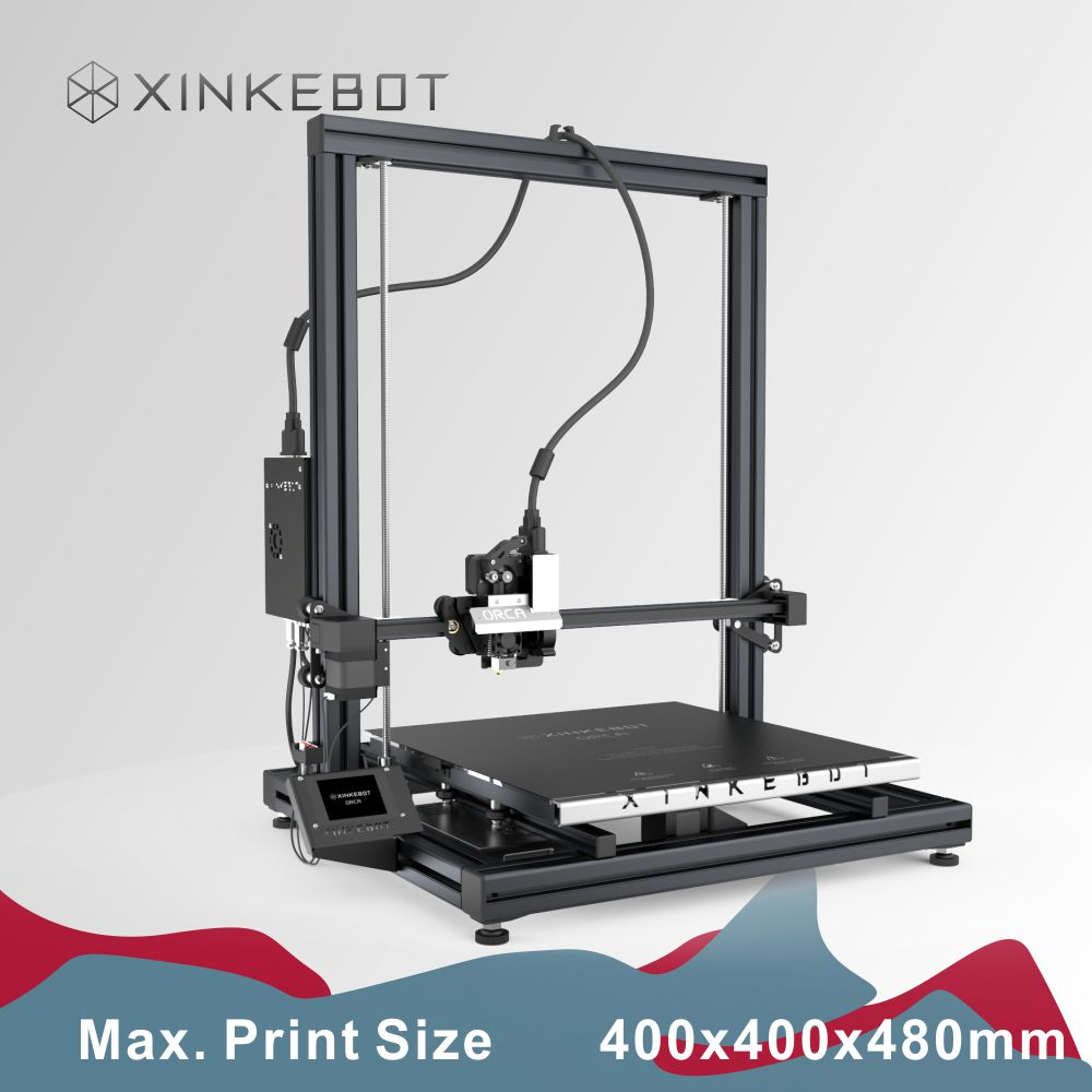 XINKEBOT Latest Version ORCA2 Cygnus 400 400 480 Desktop FDM 3D Printer Greatest for Birthday Surprises