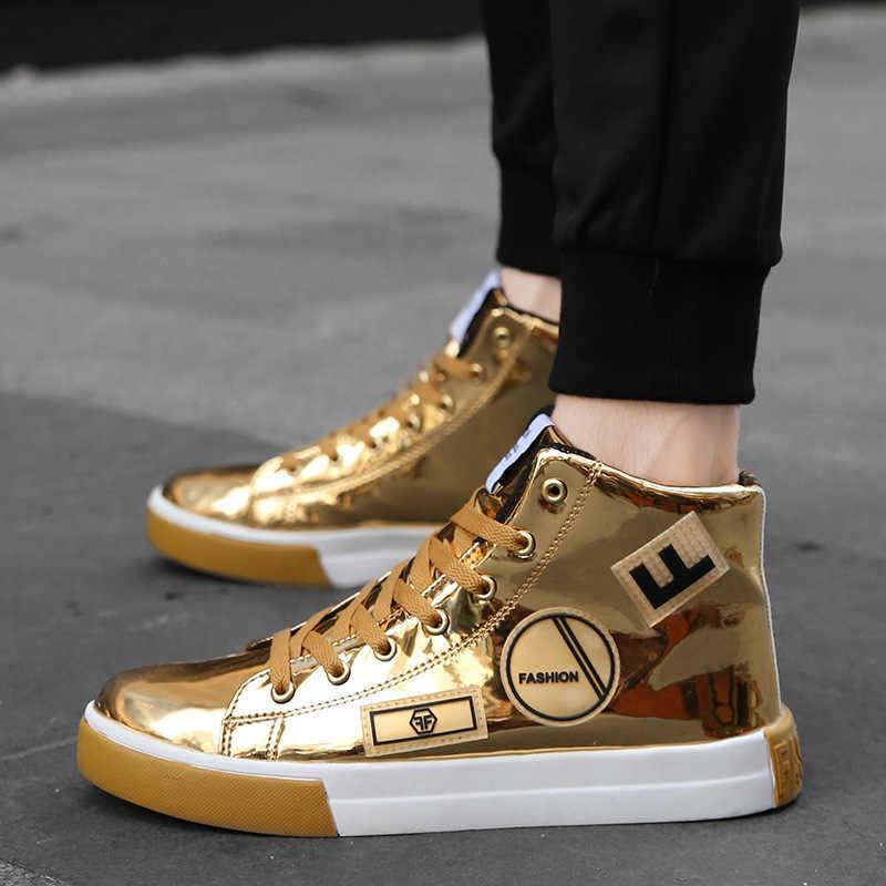 Men Casual Shoes Fashion High Top