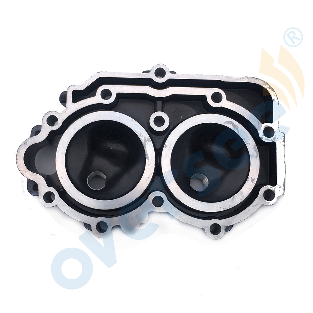 OVERSEE 6E7-11111  Cylinder Head Cover For Yamaha Outboard 9.9HP 15HP 2 Stroke 6E7-11111-01-94 9.9D 15D