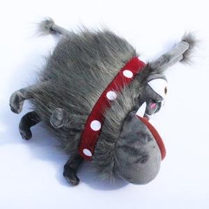 Image 3 - 25 cm Anime Film 2 Gri Grus Köpek Kyle peluş oyuncaklar Peluş Bebek yumuşak doldurulmuş hayvan Oyuncak Yılbaşı Hediyeleri