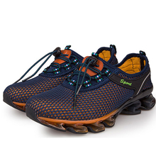 12baf65f05d7 Running Shoes Man And Women Mesh Breathable Shoes Lightweight Couple Shoes  Springblade Antiskid Sneakers Sports Walking