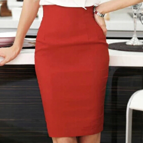 Popular Knee Length Pencil Skirt High Waisted-Buy Cheap Knee ...