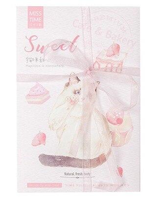 P73- Sweet Cat Paper Postcard(1pack=30pieces)