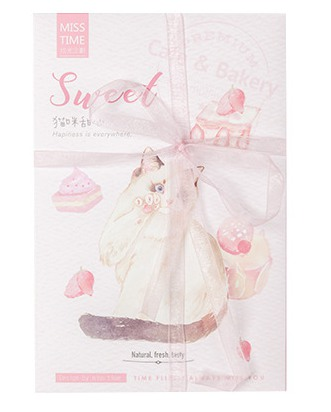 Sweet Cat Paper Postcard(1pack=30pieces)