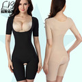 Postpartum abdomen short-sleeve drawing seamless one piece shaper body shaping underwear slimming clothes shapewear beauty care