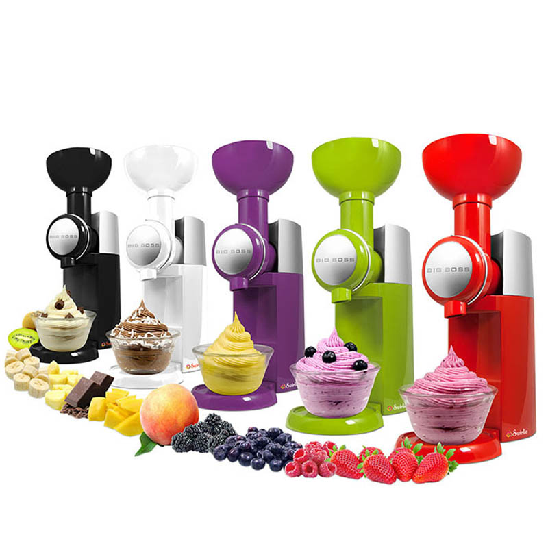 110v-240v frozen fruit dessert maker Mini Fruit Automatic Ice Cream Machine ice cream maker Milkshake machine 1pc