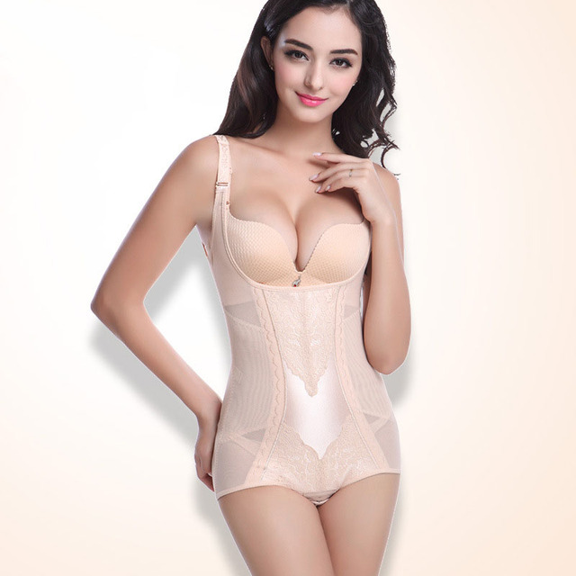 Женская Пластика Управления Грудью Корсет Живота Для Похудения Оболочка Тонкая Underwear Shapewear Body Shaper Талии Cincher Фирма Боди