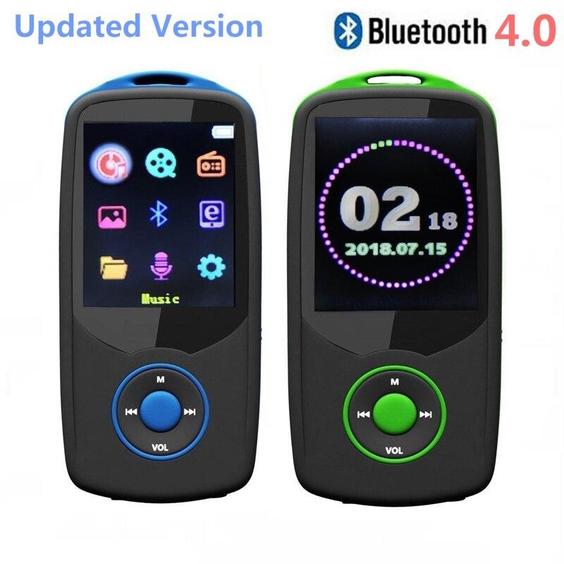 2018 New Original RUIZU X06 Bluetooth MP3 Player 8GB/16GB Co