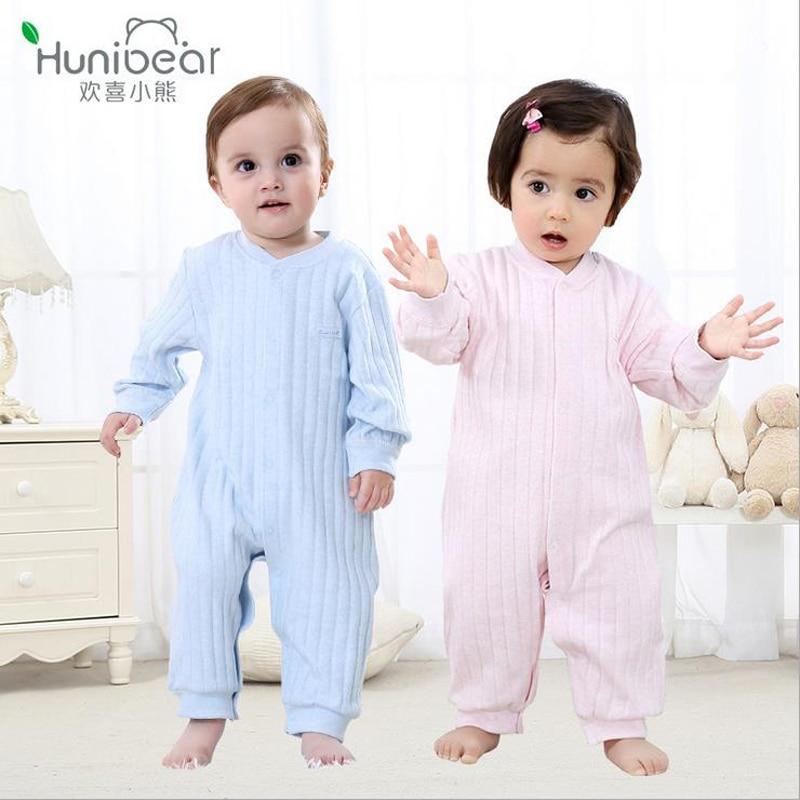 hunibear recin nacido mameluco del beb ropa linda del beb monos infantiles algodn pijamas