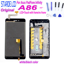 STARDE Replacement LCD for Asus PadFone Infinity A86 Display Touch Screen Digitizer Assembly Frame 5
