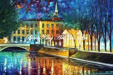 palette knife oil painting  modern oil painting canvas oil painting  K544