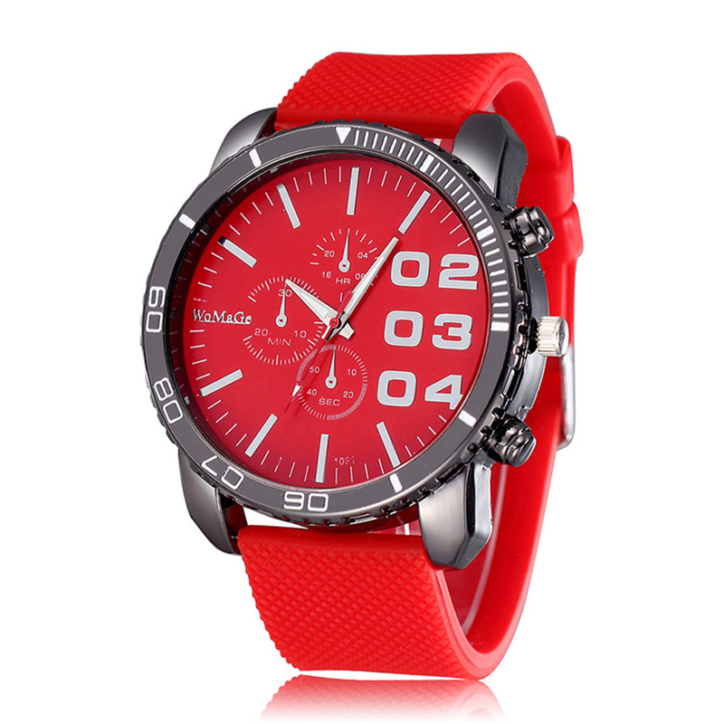 Women Sport Watch  2019 New Stylish Big Dial Ladies Casual Wrist Watch Silicone Watchband Female Fitness Clock Reloj Mujer