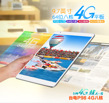 """9.7 """"p98 Teclast 4g Octa Core MTK8752 Retina de 9.7 pulgadas 2048×1536 de Doble Cámara de 8.0MP del Androide 5.0 GPS fdd-lte Phone Call 2 gb/32 gb"""