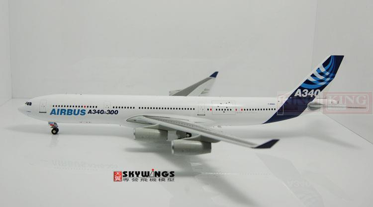 Wings XX2654 JC Special: Airbus F-WWAI 1:200 A340-300 commercial jetliners plane model hobby