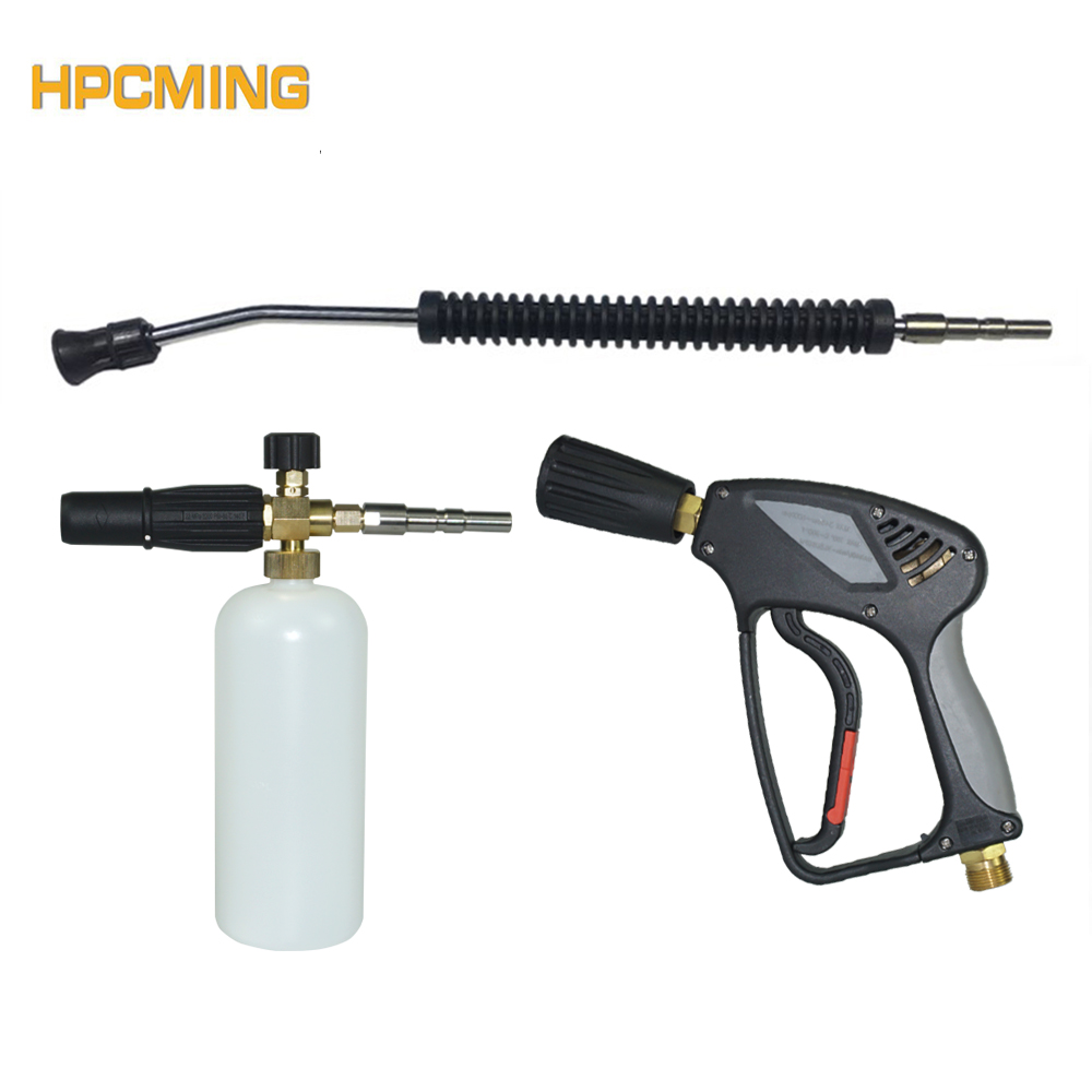 2018 High Pressure Washer Foam Gun Kit For Nilfisk Quick Connect Professional Pressure Washer Machine for Car Cleaning(MOWG005) цена 2017