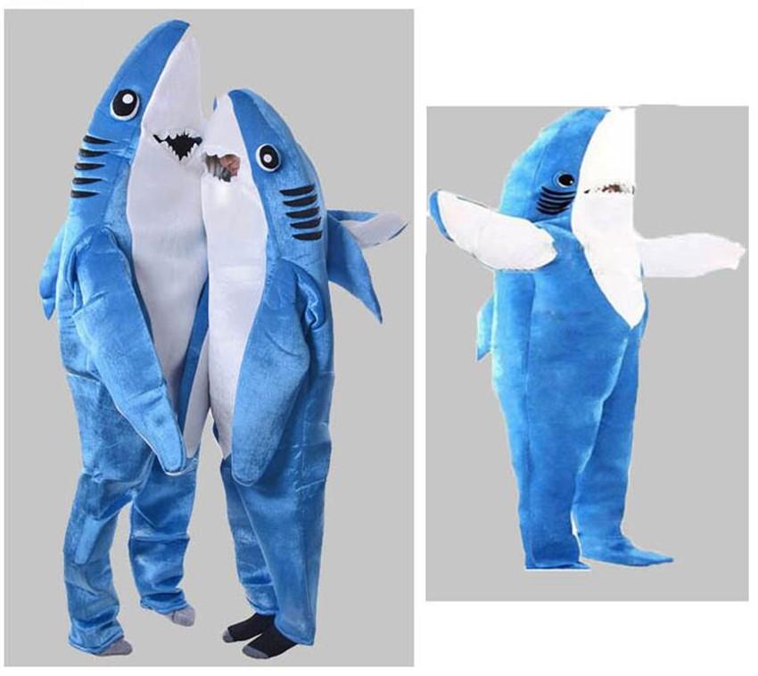 Костюм акулы плюшевый