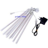 50cm 30cm 8 Tubes LED Meteor Shower Rain Lights Icicle Snow Raindrop Lamp For Christmas Waterproof