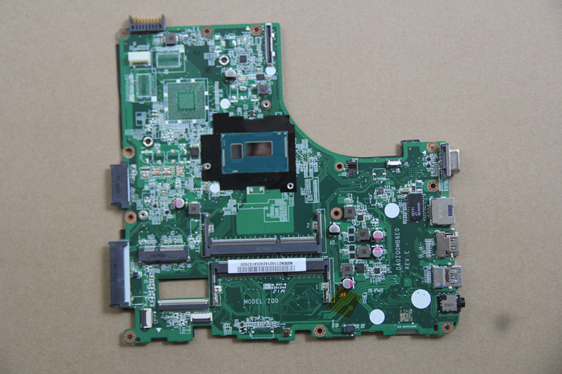 NBMN211001 For font b Acer b font V3 472 E5 471 Laptop motherboard DA0ZQ0MB6E0 with I5
