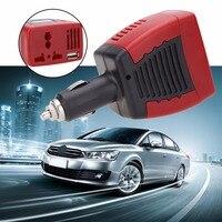 BIBOVI 150 W Auto Auto Omvormer Usb-poort 5 V Adapter Convertor 12VDC Naar AC 220 V Charger Converter