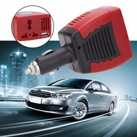 BIBOVI 150W Car Auto Power Inverter USB Port 5V Adapter Convertor 12VDC To AC 220V Charger