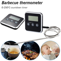 Kitchen Tools Temperature BBQ Cooking Meat Hot Water Measure Probe Digital Food Thermometer