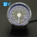 High Quality 2.5 INCH 60MM DY Water Temp gauge with Blue color Light automobile temperature gauge