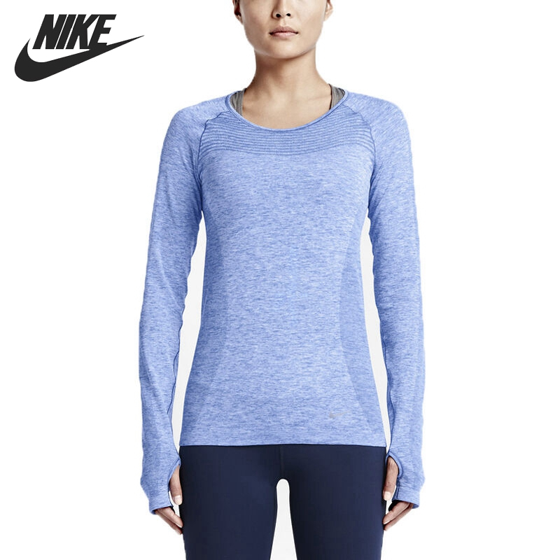 Original New Arrival   NIKE DRI-FIT KNIT LONG SLEEVE Women