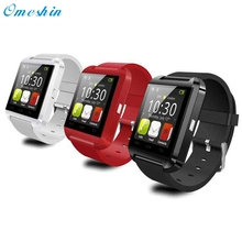 Venta superior! 1 unid compañero de dispositivos portátiles de smart watch reloj de pulsera móvil bluetooth 4.0 para android para htc para samsung dec20