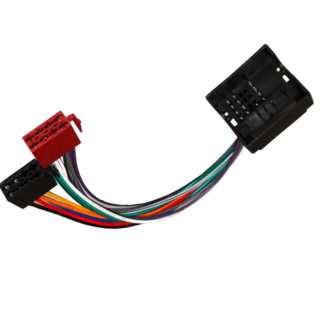 Msanzeo Car Iso Radio Plug Adapter Auto Wiring Cable Stereo Harness