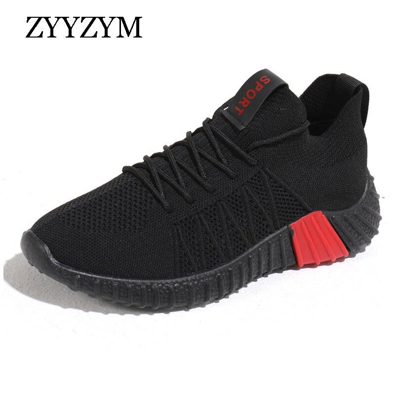 e41d9d0e ZYYZYM обувь для мужчин модные кроссовки 2019 Повседневная Весна Осень дышащая  мужская обувь Footware уличная