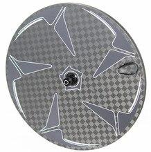 Полный колесо с Карбоновым диском 3 к/18 к 23 мм широкий передние или задние колеса довод/Tubular для Триатлон время трек Tt велосипед супер свет