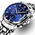 Relogio Masculino Мужские Часы Роскошные Спортивные Часы 3ATM Водонепроницаемые Часы Хронограф Наруч ✔