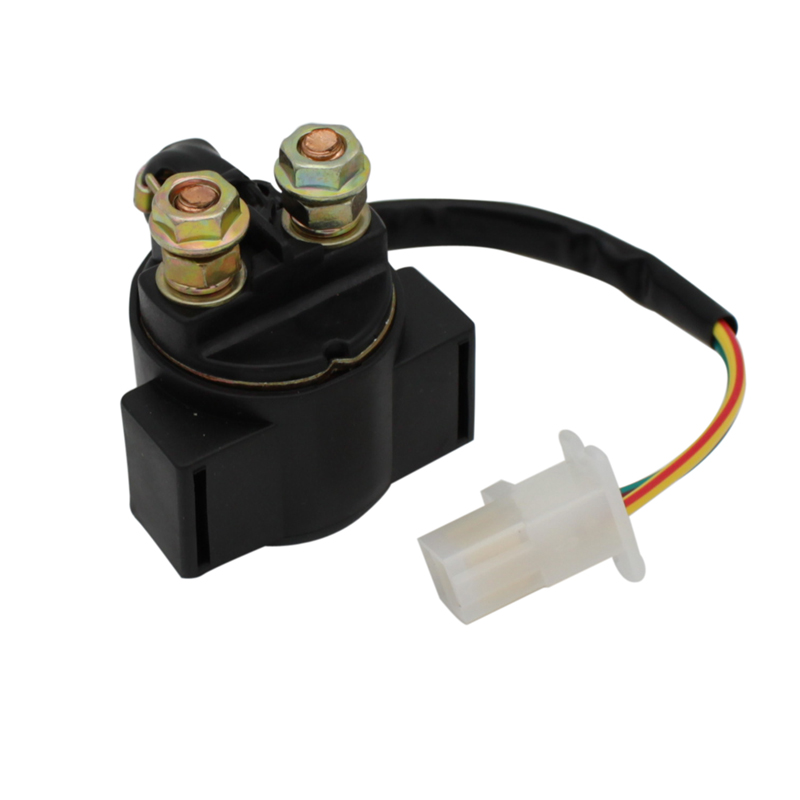 Cyleto Motorcycle Starter Relay Solenoid for SUZUKI DR200SE <font><b>DR</b></font> <font><b>200</b></font> SE 97-07 VS800GLV INTRUDER 92-97 VX800 VX800P MARAUDER 90-93 image