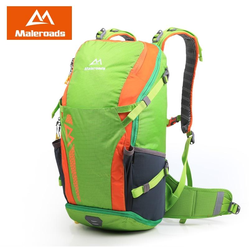새로운 디자인 Maleroads 여자와 남자의 배낭 방수 나일론 야외 배낭 하이킹 가방 캠핑 스포츠 사이클링 배낭 40L
