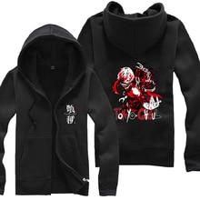 Anime Tokyo Ghoul Zipper Sweatshirt long sleeve hoodies