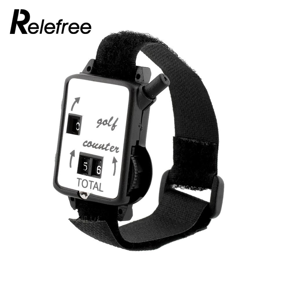 Relefree Mini Black Wristband Golf Club Stroke Score Counter Uxcell Waved Plastic Handle Pcb Circuit Board Anti Static Brush Keeper Shot Scorer Accessories Outdoor Sports