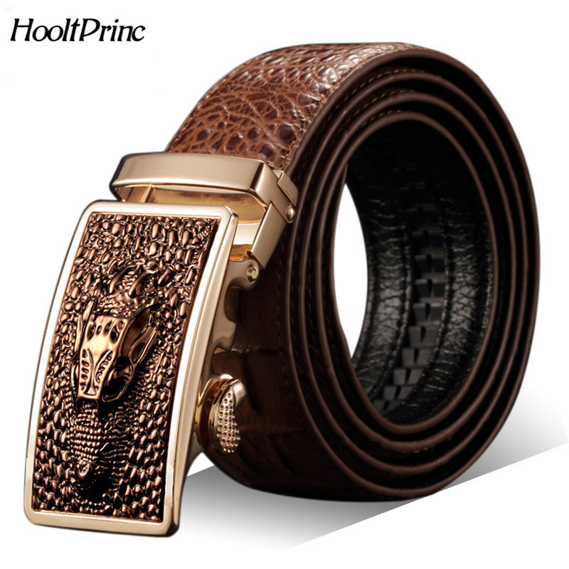 new belt genuine leather crocodile men buckle skin s hot sell waist waistband